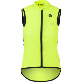 AGU Essential II Wind Vest Women, neon yellow